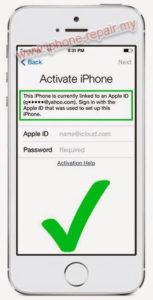 iPhone unlock icloud malaysia