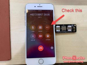 iPhone audio ic problem symptoms