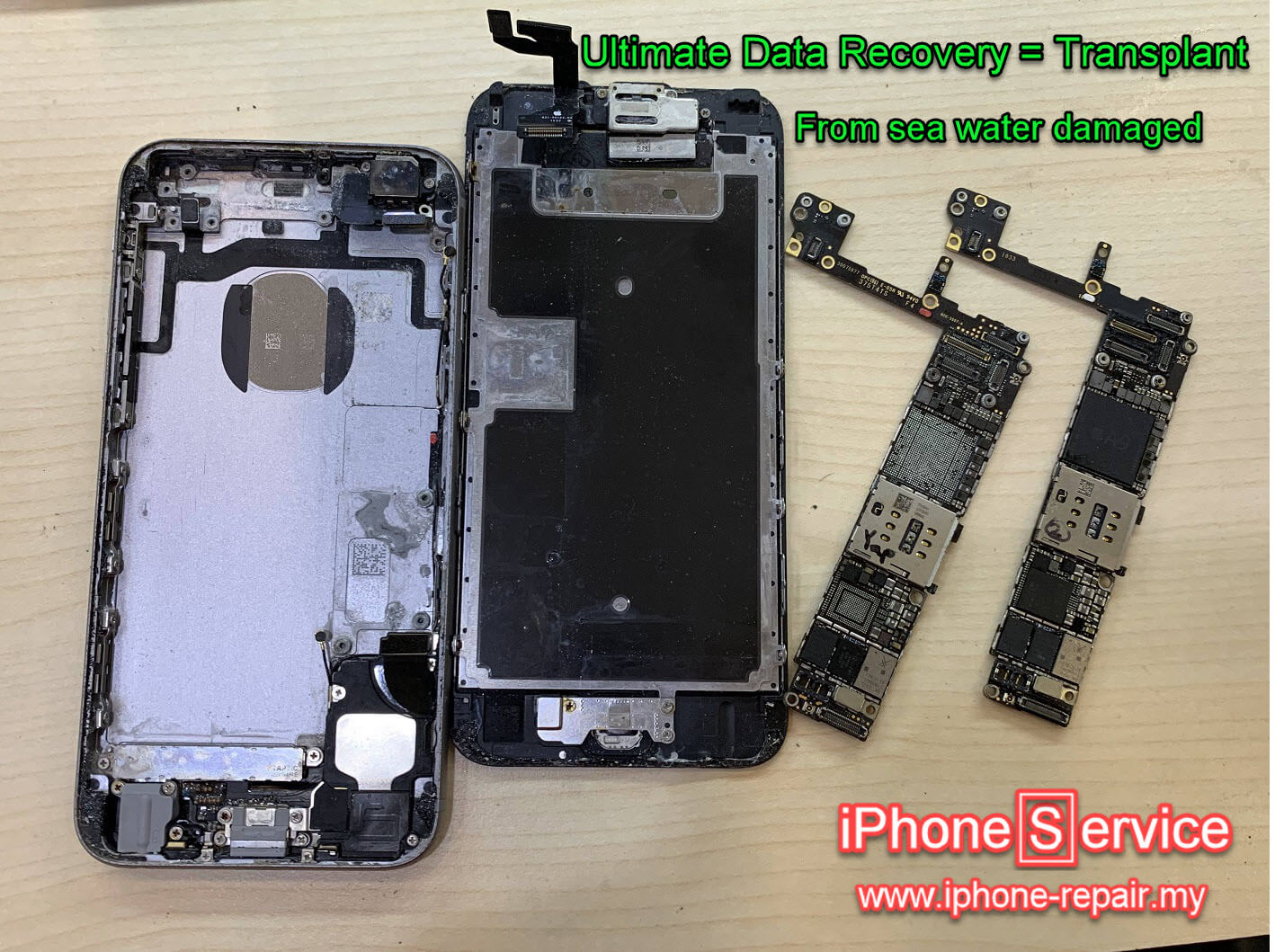 Ultimate iPhone Data Recovery transplant job