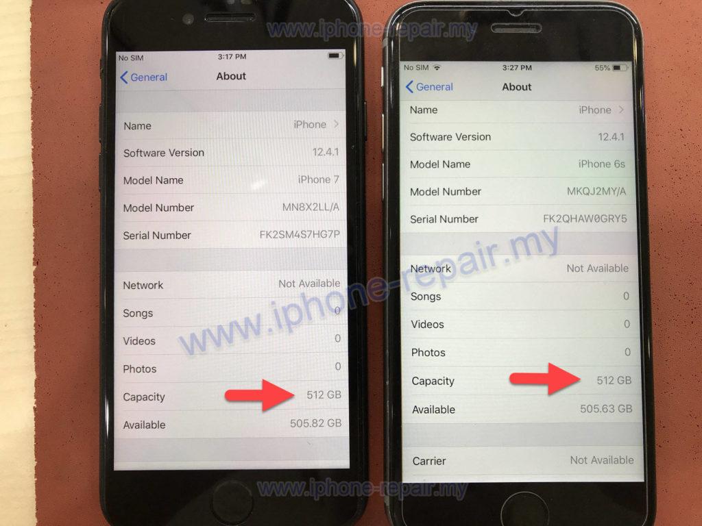 iPhone upgrade 512 GB